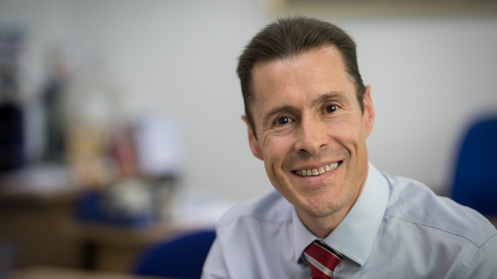 Jim McGeorge, University Secretary and Chief Operating Officer, University of Dundee.